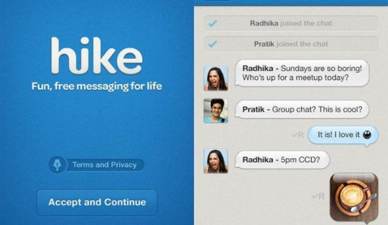Hike Messenger 1280x742 2 - Can Hike Knock Off Whatsapp With Their New 5.0 Update?