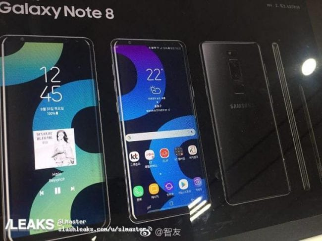 Image - Fresh Leak Just Revealed Samsung's Galaxy Note 8 Design