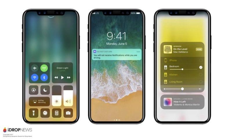 Image - Apple iPhone 8 Renders Running iOS 11 Leaked!