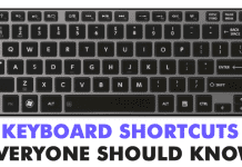 Top 40 Keyboard Shortcuts Everyone Should Know