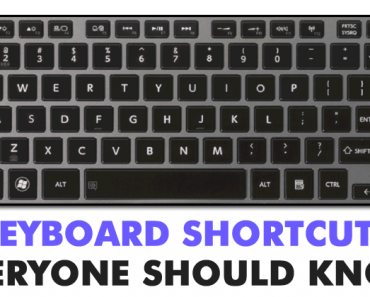 Top 40 Keyboard Shortcuts Everyone Should Know