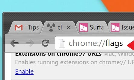 Make Chrome More Touch-Friendly on the Microsoft Surface