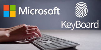 Microsoft's New Modern Keyboard Has A Hidden Fingerprint Reader
