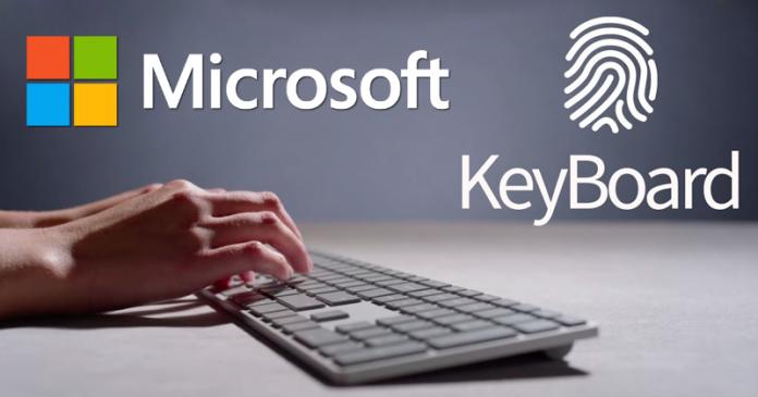 Microsoft's New Modern Keyboard Has A Hidden Fingerprint Reader