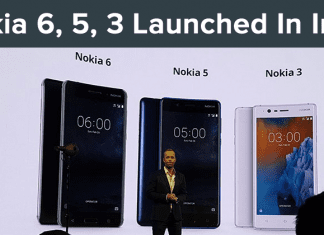 Nokia 6, Nokia 5, Nokia 3 Launched In India: Prices & Specifications