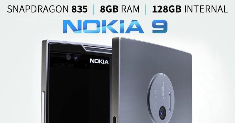 Nokia 9 Spotted With 8GB Of RAM, Snapdragon 835 Processor