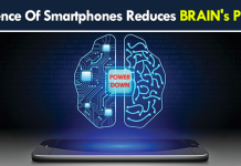 OMG! Presence Of Smartphones Reduces BRAIN's Power