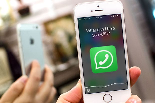 Siri can read your WhatsApp messages
