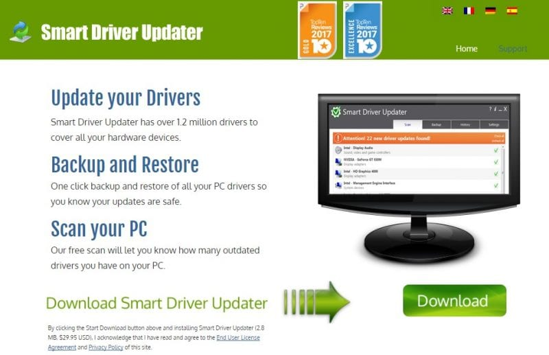 Smart Driver Updater - best driver update software 2019