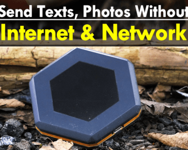 This Tiny Device Let You Send Texts, Photos Without Internet & Network