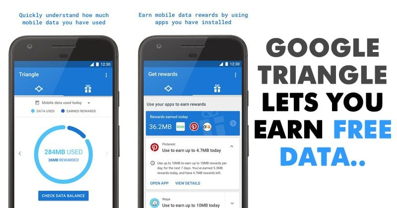 Google's New Triangle App Will Help You Earn And Save Mobile Data