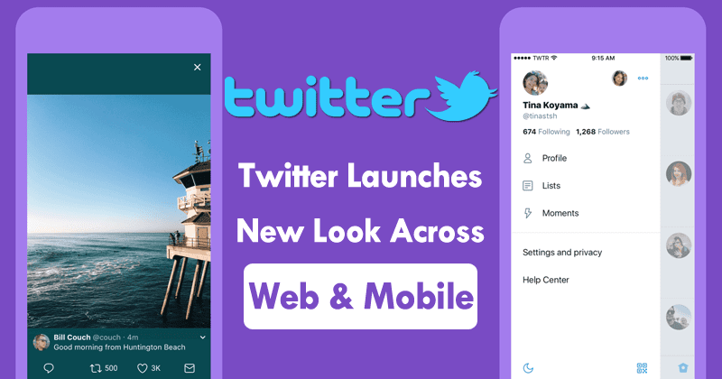 Twitter Launches New Look Across Web And Mobile