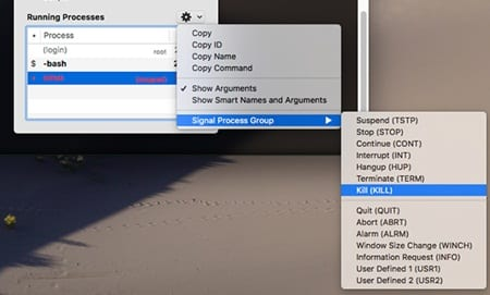 Use the Mac Terminal's Hidden Task Manager to See Background Processes