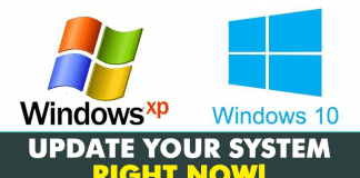 Windows XP And Windows 10 Users, Update Your System Now!