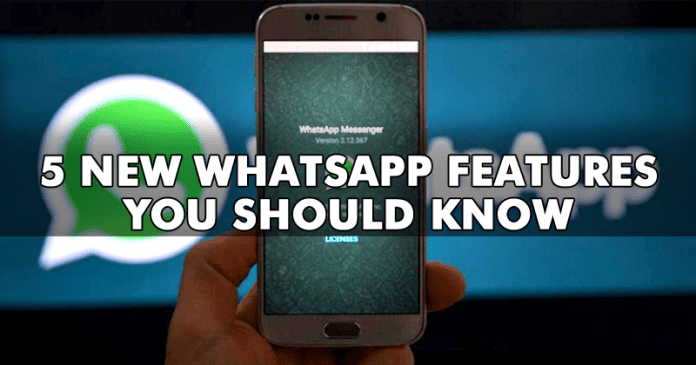 5 *NEW* WhatsApp Features You Should Know About