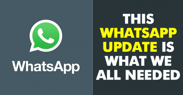 WhatsApp's Latest Update Brings Some Awesome Features