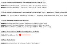 Screenshot of a Beta Archives posting