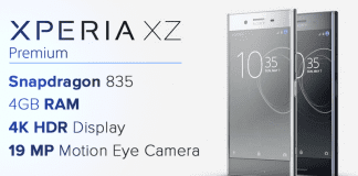 Sony Xperia XZ Premium Launched: The King Of Smartphones!