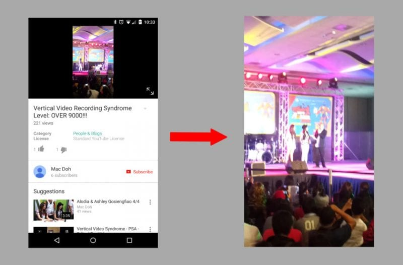 YouTube vertical videos AA 840x552 - You Can Now Watch Portrait Videos In Full Screen On YouTube's Android App