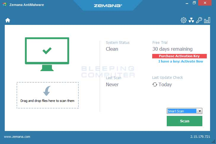 Zemana Antimalware - anti ransomware free