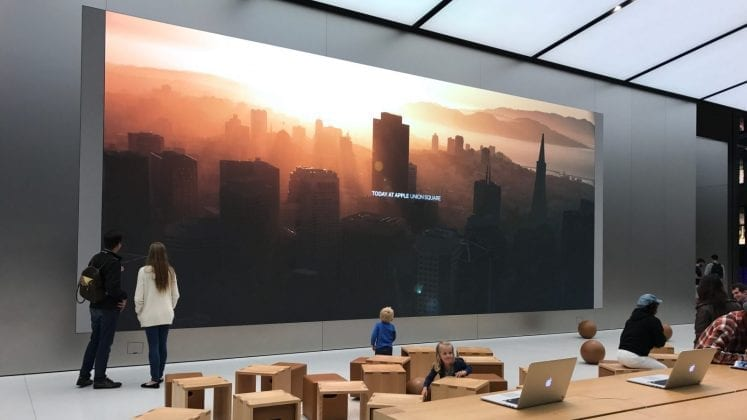 apple store san francisco union square 2 747x420 - Apple Shares Photos Of Its New Stores In Taiwan In A Spectacular Fashion