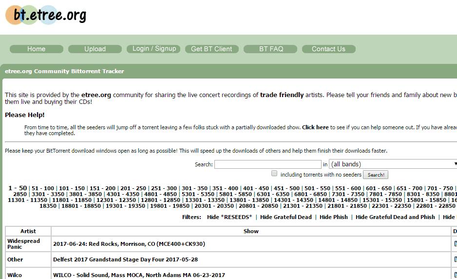 bt.etree.org