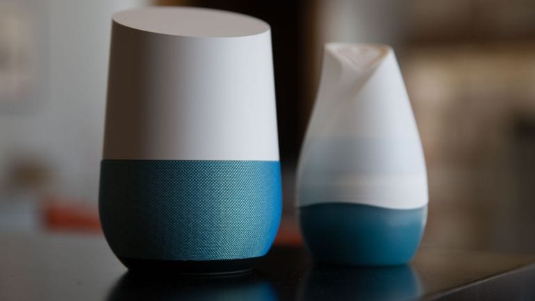 google home product photos 25 - Google Home Proves Itself 6 times better at searches than Amazon Echo