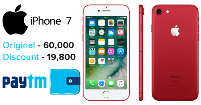 iPhone 7 Is Available Online At A Huge Discount Of Rs. 19,800