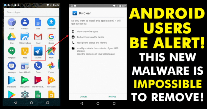 This Android App Installs Malware Which Is 'Impossible' To Remove