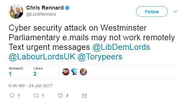 nintchdbpict000334083381 - Parliament Hack: 90 Email Accounts Compromised As Hackers Target 'Weak Passwords'