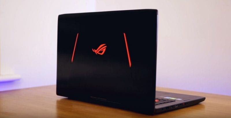 the asus rog strix g702zc was said to the first gaming laptop powered by amd ryzen 7 processor - The First Ryzen-Powered Gaming Laptop Is Up For Pre-order