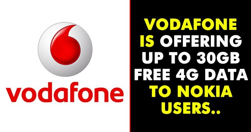 Vodafone Introduces An Amazing Offer For Nokia Smartphone Buyers