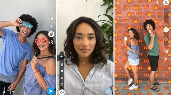 Add a Backdrop to Your Snapchat Snap