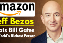 Amazon Founder Jeff Bezos Beats Bill Gates As World's Richest Person