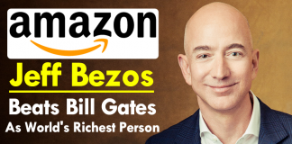 Amazon Founder Jeff Bezos Beats Bill Gates As World's Richest Person