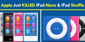 Apple Just Killed iPod Nano And iPod Shuffle