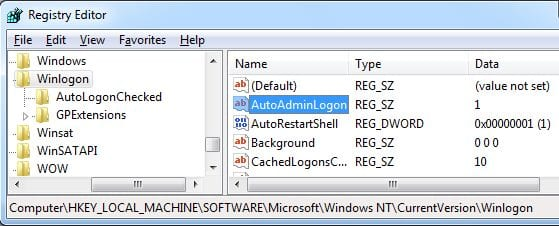 Automatically Log in To Windows 10 PC