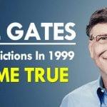 Bill Gates 14 Predictions In 1999 Come True