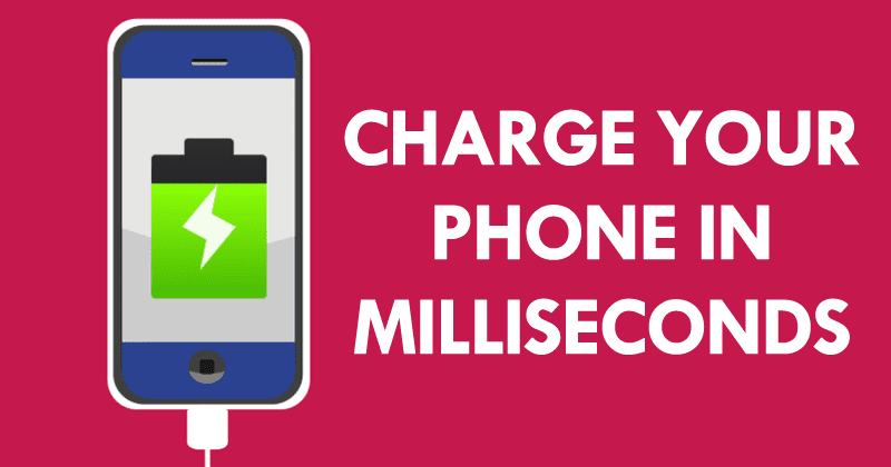 Charge Your Phone In Milliseconds With Drexel's Battery Breakthrough