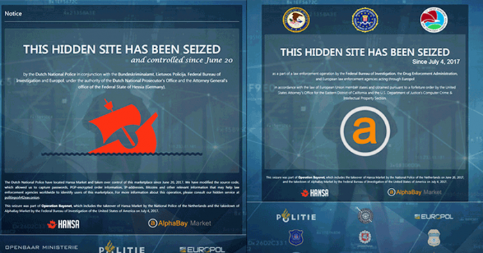 Dark Web Marketplaces AlphaBay And Hansa Shut Down
