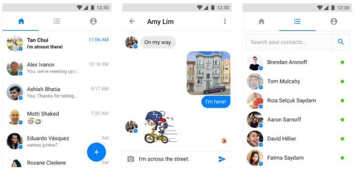 Facebook Messenger Lite - Facebook Messenger Lite For Android Now Available In India On Google Playstore