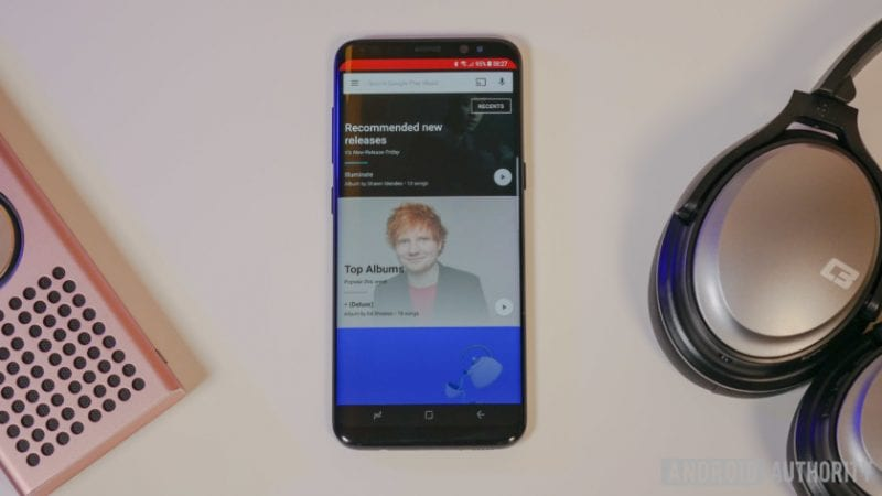 Galaxy S8 Google Play Music 840x473 - Google Play Music Users Will Get New Radio Feature With More Updates