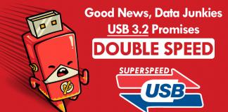 Good News, Data Junkies: USB 3.2 Promises Double Speed
