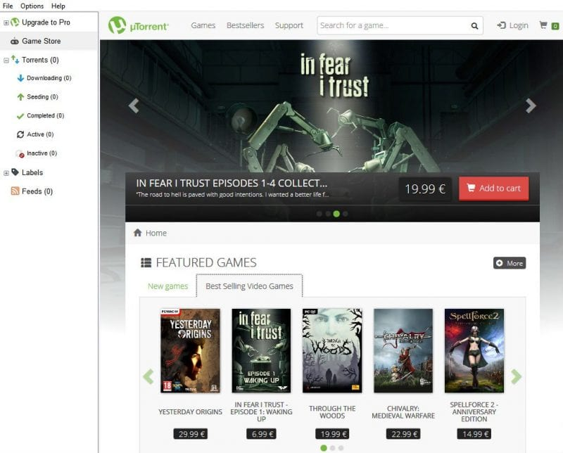 IMG 1 1 - uTorrent Now Has A Built-in Game Store