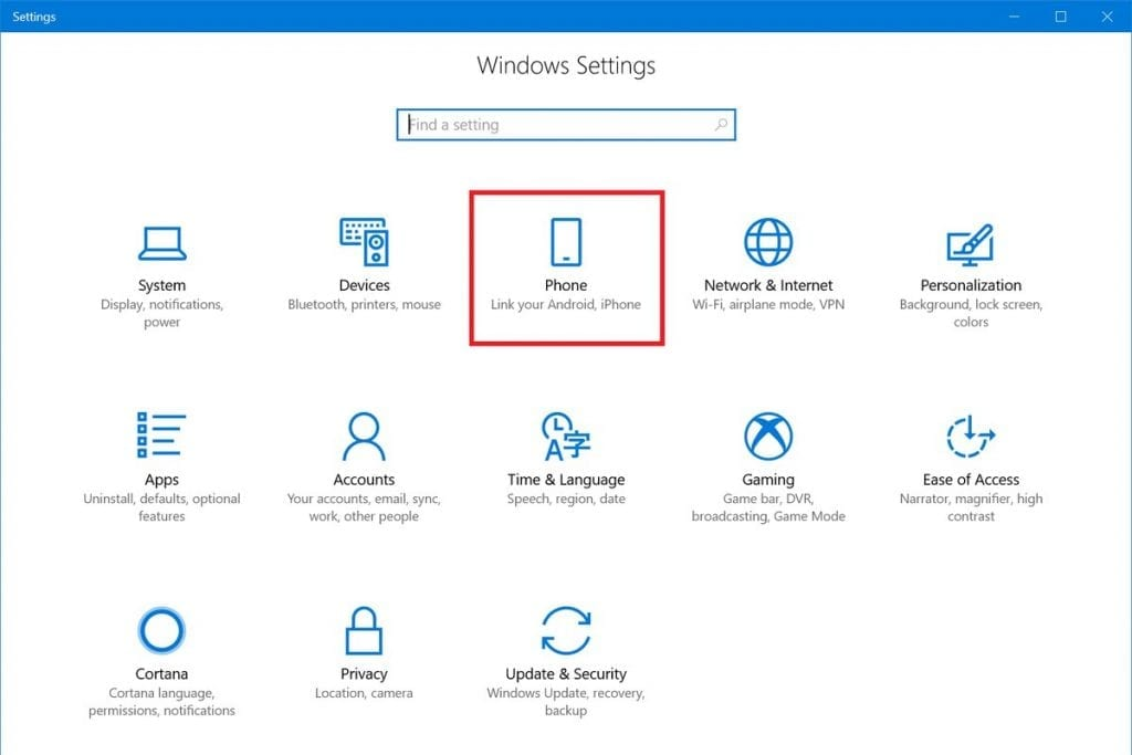 Image 1 1024x683 - Windows 10 Gets A Nifty New Hook-Up With Your Android Phone