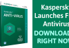 Kaspersky Launches Free Antivirus Software Globally