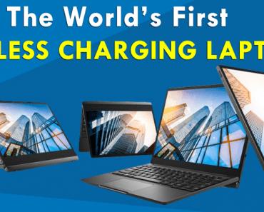Meet The World's First Wireless Charging Laptop