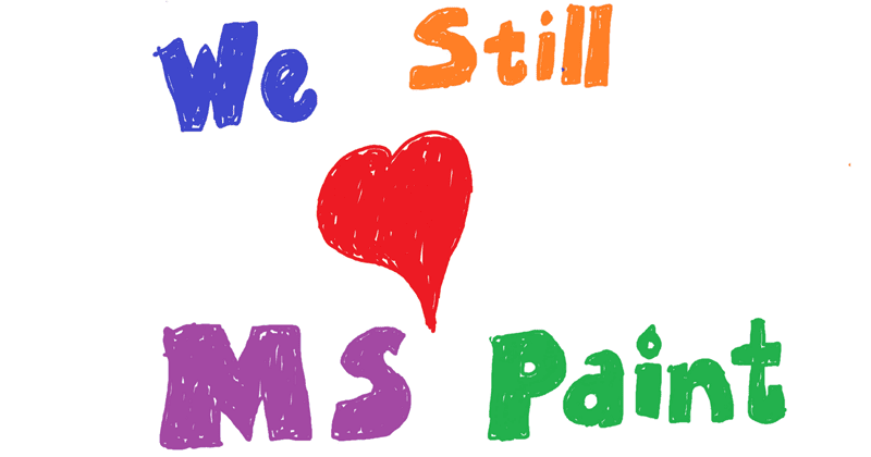 Microsoft Says 32-Year-Old MS Paint Is Not Going Away