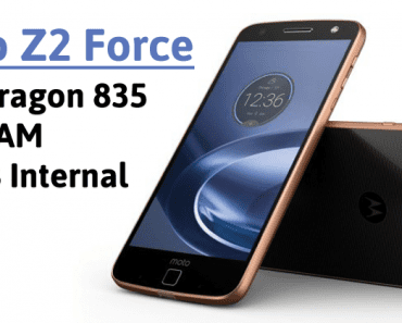Moto Z2 Force To Feature Snapdragon 835, 6GB RAM, 128GB Internal