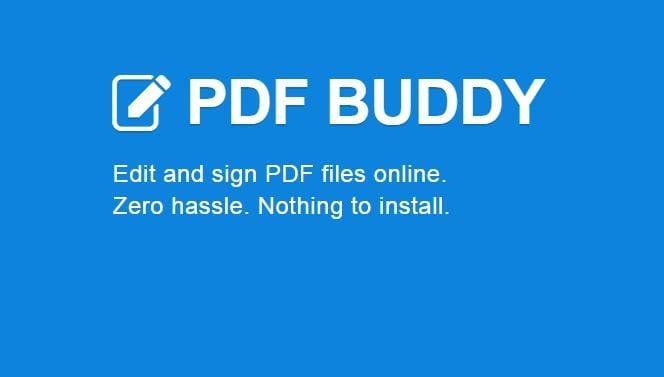 PDF Buddy - How To Edit PDF Files For Free